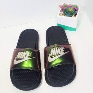 Nike Benassi Sandals size 8 slides